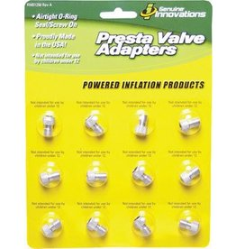 Genuine Innovations Genuine Innovations Alloy Presta Valve Adapter: Single