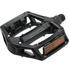 Wellgo Wellgo B102 BMX Pedals 9/16 Black