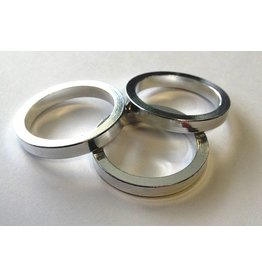 HEADSET SPACER KIT 3PK OF 5MM SILVER