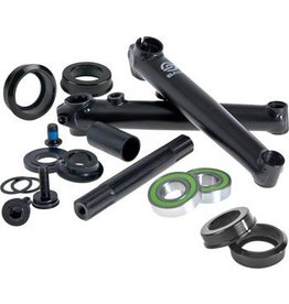 Salt Salt Rookie Crank Set 175mm with Mid Bottom Bracket Black