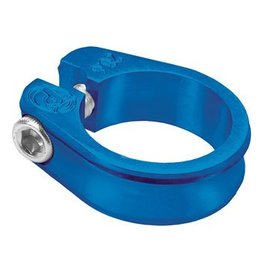"Profile Racing 28.6mm (1-1/8"") Profile Racing Slim Jim Seatpost Clamp Blue"