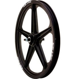 "ACS ACS Z Mag 20"" Front Wheel, 5 Spoke 3/8"" Axle Black"