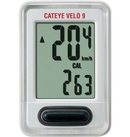 CatEye CatEye Velo 9, Wired Cycling Computer CC-VL820: White