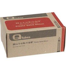 20x1-1/8-1-3/8  Q-Tubes 60mm Presta Valve Tube