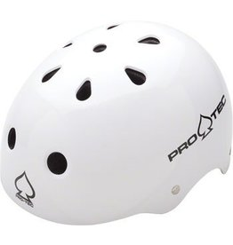 Pro-tec Pro-Tec Classic Helmet: Gloss White, MD