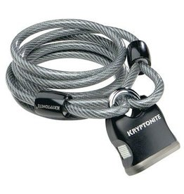 Kryptonite Kryptonite KryptoFlex Cable Lock with Key: 6' x 8mm