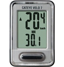 CatEye CatEye Velo 7, 7 Function Wired Cycling CPU CC-VL520: Black