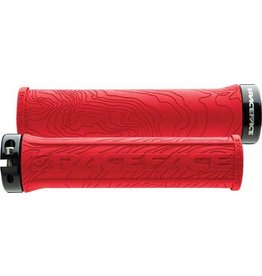 RaceFace Race Face Half Nelson Lock-On Grip Red