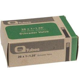 26x1-1.25 Q-Tubes Schrader Valve Tube 102g