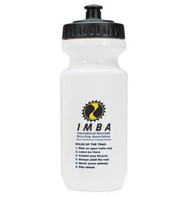 IMBA Water Bottle: 21oz~ White Logo