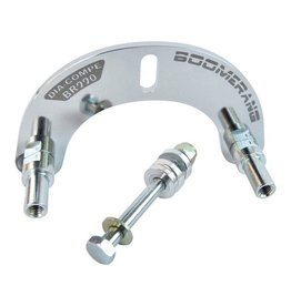 Dia-Compe DIA-COMPE BR-990 Boomerang U-Brake adapter plate - chrome