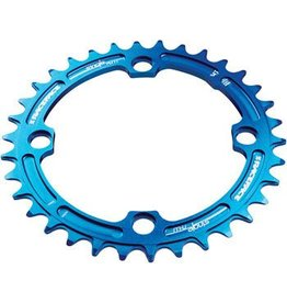 RaceFace Race Face Narrow-Wide Single Ring 32t x 104 Blue