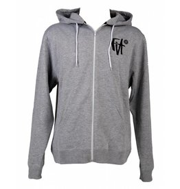 Fit FIT SCRIPT HOODY HEATHER GREY MEDIUM