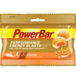 PowerBar PowerBar Energy Blasts Gel Chews: Orange, Box of 12