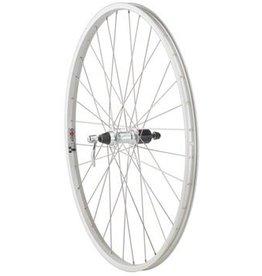 Quality Wheels Value Series 1 Mountain Rear Wheel 700c Formula 135mm Freehub / Alex Y2000 Silver