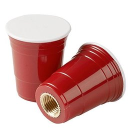 Red Cup Valve Caps
