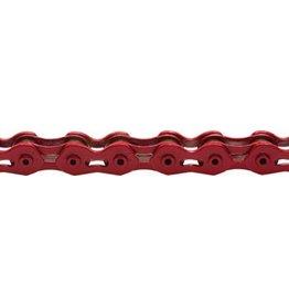"KMC KMC K710SL SuperLite Kool Chain: 1/8"" 100 Links Red"