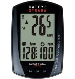 CatEye CatEye Strada Digital Dbl W/ Speed & Cadence Wireless Cycling Computer RD410DW: Black