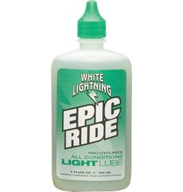 White Lightning White Lightning Epic Ride Lube, 4oz Drip