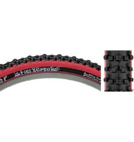 Panaracer 26x2.1 Panaracer Fire XC Pro Black/Red Steel Bead