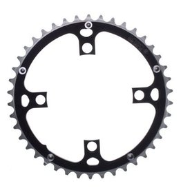 Origin8 Origin8 Chainring 104mm 46T Ramped 4B Black/Silver
