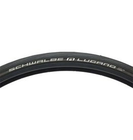 Schwalbe Schwalbe Lugano Road Tire, 700x25 Wire Bead Black w/ K-Guard Protection