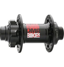 DMR DMR Convertable Front Hub, 20mm/110mm 6-Bolt Disc 32h Black