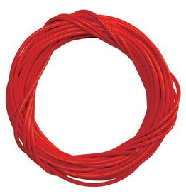 Cable housing w/liner 5mm RED per foot