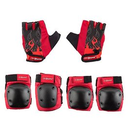 Kidzamo KIDZAMO Kids Padset ELBOW/KNEE HD w/GLOVES