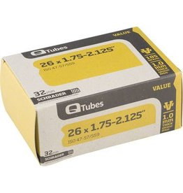 26x1.75-2.125 Q-Tubes Value Series Tube with Schrader Valve