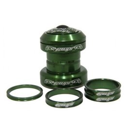 "Crupi CRUPI 1-1/8"" HEADSET GREEN"