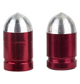 Trik Topz TRIKTOPZ Valve Caps Presta Bullet red 1pr