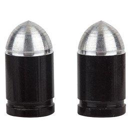 Trik Topz Trik Topz Valve Caps Presta Bullet Black 1pr
