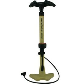 Planet Bike Planet Bike Comp Floor Pump: Khaki