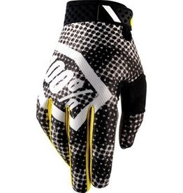 100% 100% Ridefit Full Finger Glove: Corpo Blurred Camo SM