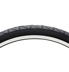 "Vee Tire Co. Vee Rubber Smooth Tread Mountain Tire: 26""x 1.5"" Steel Bead Black"
