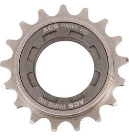 "ACS ACS PAWS HD Freewheel: 17t, 3/32"", Gun Metal"
