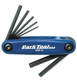 Park Tool Park Tool AWS-10 Metric Folding Hex Wrench Set
