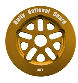 Bully BULLY National Guard Sprocket 25T Gold