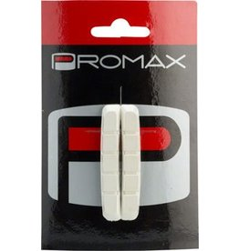 Promax Promax B-1 Cartridge Brake Pad Replacement Inserts 70mm White