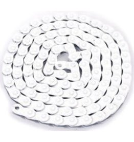 "KMC KMC HL710 Half-Link Chain: 1/8"" 100 Links White"