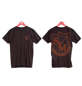 S&M S&M 2Shield Black-Red Small