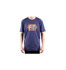 Fit FIT Directional Tee Blue Large