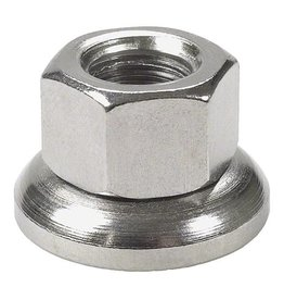 Problem Solvers 9 x 1mm Front Outer Axle Nut with Rotating Washer - single