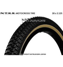 "Panaracer 20x2.125 Panaracer NTKK ""Snakebelly"" BMX Foldable Kevlar Tire - Black"