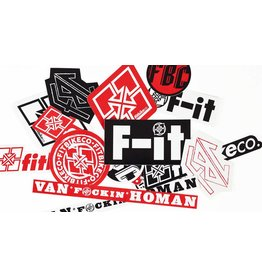 Fit FIT MIXED 15 STICKER PACK