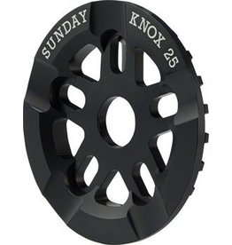 Sunday Sunday Knox Guard Sprocket 25T Black