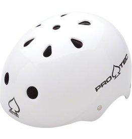 Pro-tec Pro-Tec Classic Helmet: Gloss White, LG