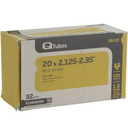 20x2.125-2.35 Q-Tubes Value Series Tube with Low Lead Schrader Valve