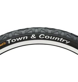 "Continental Continental Town & Country Tire 26x1.9"" Black"